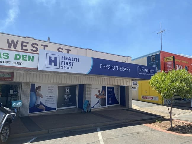 Rebrand of Health First Mount Isa Signage