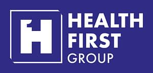 Health First Group Rectangle White Navy