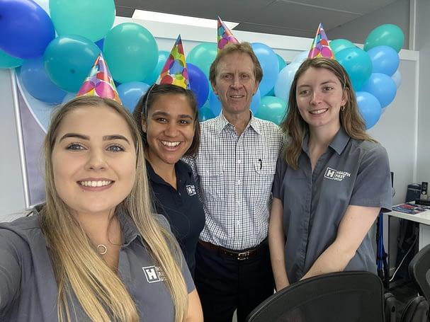 Health First Maryborough celebrating the rebrand