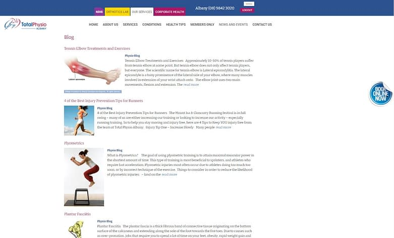 Albany Website