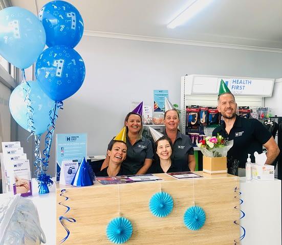 Health First Rockhampton celebrating the rebrand