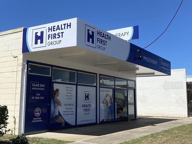 Rebrand of Health First Rockhampton Signage